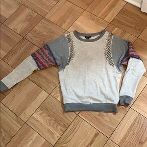 Boho chic sweatshirt